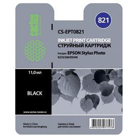 T0821 Black   C13T11214A10 (Cactus) струйный картридж - 11,4 мл, черный