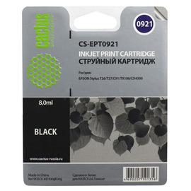 T0921 Black | C13T10814A10 (Cactus) струйный картридж - 8 мл, черный