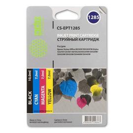 T1285 Color | C13T12854012 (Cactus) струйный картридж - 260 стр, набор цветной + черный