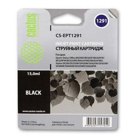 CS-EPT1291 струйный картридж Cactus T1291 Black | C13T12914012, 15 мл, черный
