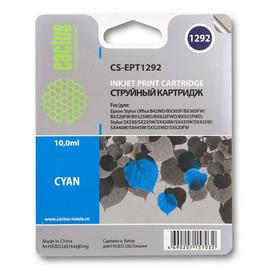 T1292 Cyan | C13T12924012 (Cactus) струйный картридж - 10 мл, голубой
