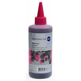 CS-EPT6643-250 чернила Cactus T6643 Magenta | C13T66434A, 250 мл , пурпурный