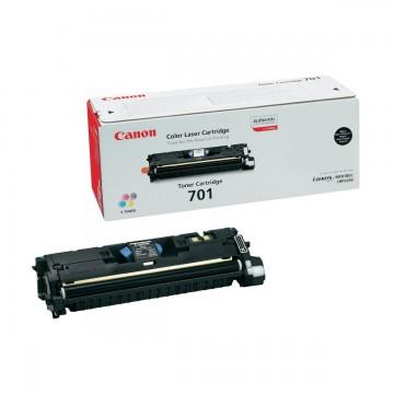 Canon 701Bk | 9287A003 оригинальный лазерный картридж - черный, 5000 стр