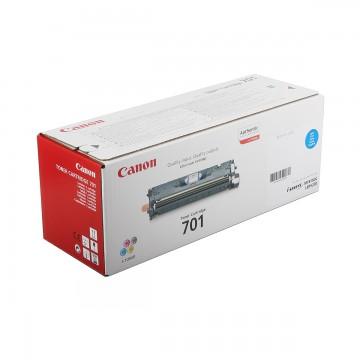 Canon 701C | 9286A003 оригинальный лазерный картридж - голубой, 4000 стр