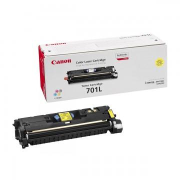Canon 701LY | 9288A003 оригинальный лазерный картридж - желтый, 2000 стр