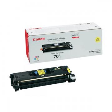 Canon 701Y | 9284A003 оригинальный лазерный картридж - желтый, 4000 стр