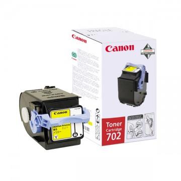 Canon 702Y | 9642A004 оригинальный лазерный картридж - желтый, 6000 стр
