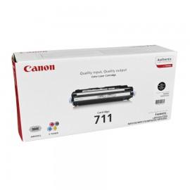 Canon 711Bk оригинальный лазерный картридж Canon черный, ресурс печати - 6000 страниц