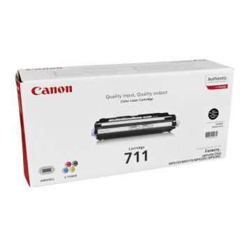 Canon 711Bk | 1660B002 оригинальный лазерный картридж - черный, 6000 стр