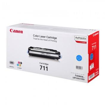 Canon 711C оригинальный лазерный картридж Canon голубой, ресурс печати - 6000 страниц