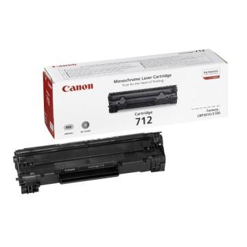 Canon 712 оригинальный лазерный картридж Canon черный, ресурс печати - 1500 страниц