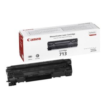 Canon 713 оригинальный лазерный картридж Canon черный, ресурс печати - 2000 страниц