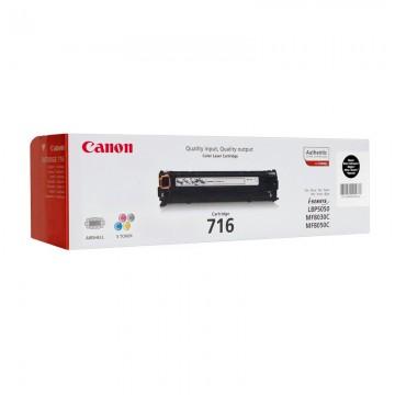 Canon 716Bk | 1980B002 оригинальный лазерный картридж - черный, 1500 стр