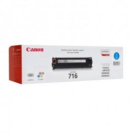 Canon 716C оригинальный лазерный картридж Canon голубой, ресурс печати - 1500 страниц
