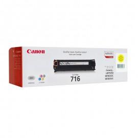 Canon 716Y оригинальный лазерный картридж Canon жёлтый, ресурс печати - 1500 страниц