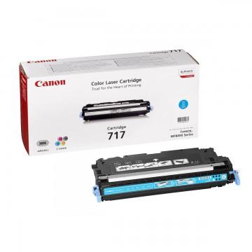 Canon 717C | 2577B002 оригинальный лазерный картридж - голубой, 4000 стр