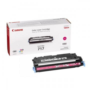 Canon 717M | 2576B002 оригинальный лазерный картридж - пурпурный, 4000 стр