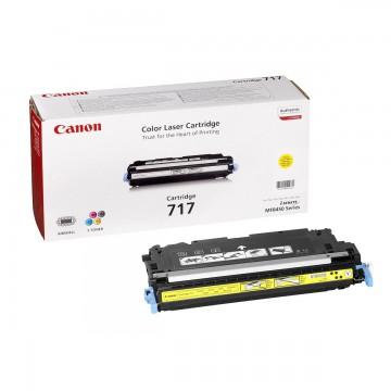 Canon 717Y | 2575B002 оригинальный лазерный картридж - желтый, 4000 стр