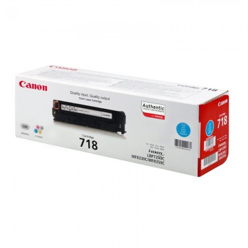 Canon 718C лазерный картридж Canon голубой