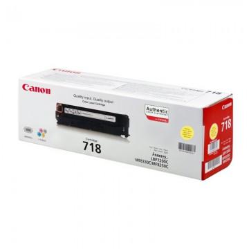 Canon 718Y лазерный картридж Canon жёлтый