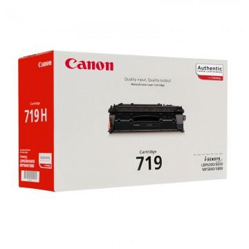 Canon 719 оригинальный лазерный картридж Canon черный, ресурс печати - 2100 страниц