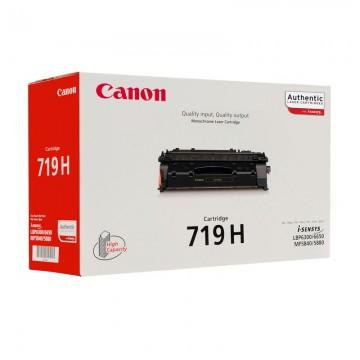 Canon 719H оригинальный лазерный картридж Canon черный-увеличенный, ресурс печати - 6400 страниц