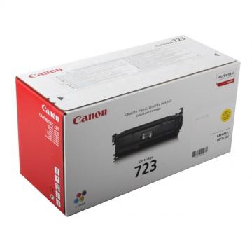 Canon 723Y | 2641B002 оригинальный лазерный картридж - желтый , 8500 стр