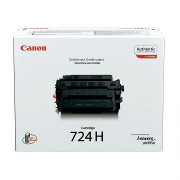 Canon 724H | 3482B002 оригинальный лазерный картридж - черный, 12500 стр
