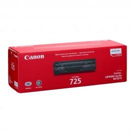 Canon 725 оригинальный лазерный картридж Canon черный, ресурс печати - 1600 страниц