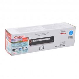 Canon 731C оригинальный лазерный картридж Canon голубой, ресурс печати - 1800 страниц