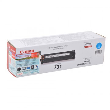 Canon 731C | 6271B002 оригинальный лазерный картридж - голубой, 1800 стр