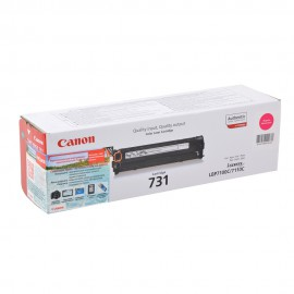 Canon 731M оригинальный лазерный картридж Canon пурпурный, ресурс печати - 1800 страниц