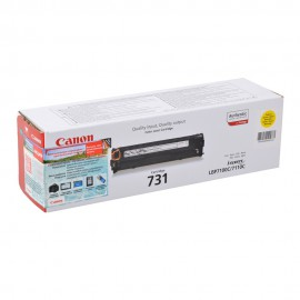 731Y   6269B002 (Canon) лазерный картридж - 1800 стр, желтый