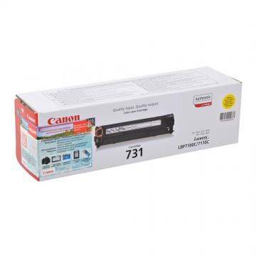 Canon 731Y | 6269B002 оригинальный лазерный картридж - желтый , 1800 стр