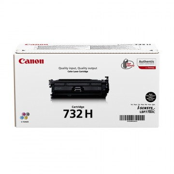 Canon 732HBk | 6264B002 оригинальный лазерный картридж - черный, 12000 стр