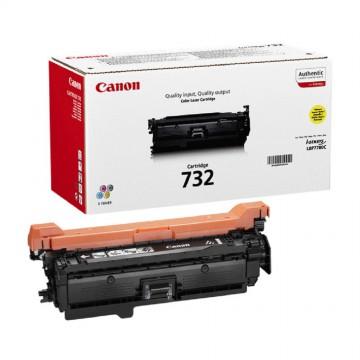 Canon 732Y | 6260B002 оригинальный лазерный картридж - желтый, 6400 стр