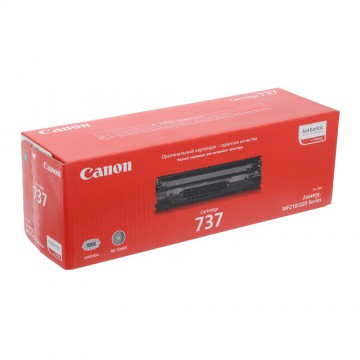 Canon 737 | 9435B004 оригинальный лазерный картридж - черный, 2400 стр
