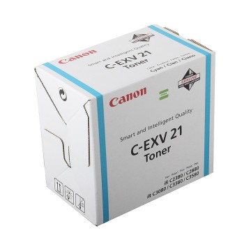 Canon C-EXV21C | 0453B002 оригинальный тонер картридж - голубой, 1400 стр