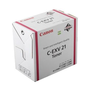 C-EXV21M оригинальный лазерный тонер картридж Canon пурпурный, ресурс печати - 1400 страниц