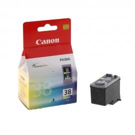 CL 38 оригинальный струйный картридж Canon цветной, ресурс печати - 205 страниц