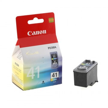 CL 41 оригинальный струйный картридж Canon цветной, ресурс печати - 315 страниц