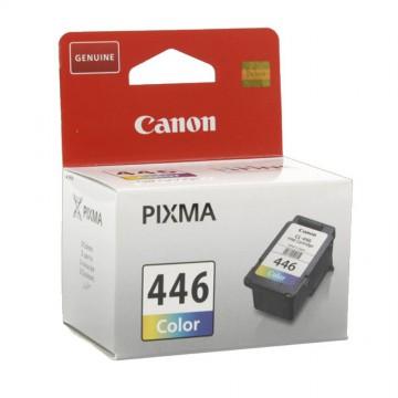 CL 446 оригинальный струйный картридж Canon цветной, ресурс печати - 180 страниц