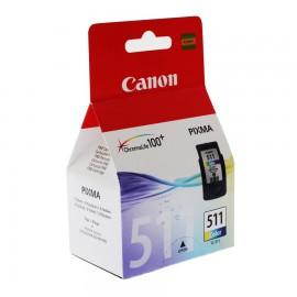 CL-511 | 2972B007 струйный картридж Canon, 244 стр., цветной