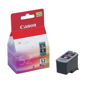 CL 52 оригинальный струйный картридж Canon фото, ресурс печати - 710 страниц