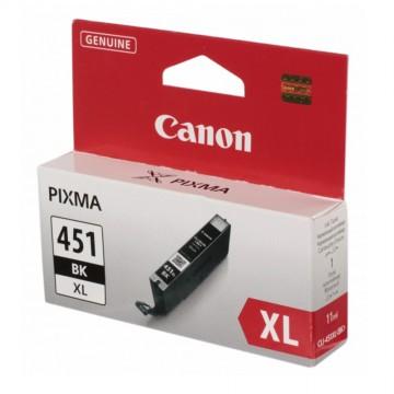 CLI 451XLBk оригинальный струйный картридж Canon черный-увеличенный, ресурс печати - 1130 страниц