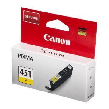 Canon CLI-451Y | 6526B001 оригинальный струйный картридж - желтый, 320 стр