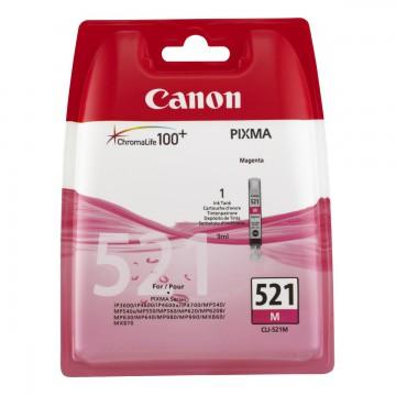 Canon CLI-521M | 2935B004 оригинальный струйный картридж - пурпурный, 535 стр