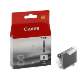CLI 8Bk оригинальный струйный картридж Canon черный, ресурс печати - 270 страниц