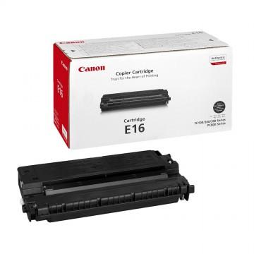 Canon E 16 оригинальный лазерный картридж Canon черный, ресурс печати - 2000 страниц