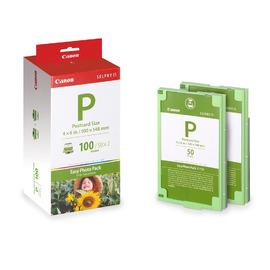 E-P100 Ink/Paper Set | 1335B001 сублимационный Canon, 100 фото, цветной набор + фотобумага